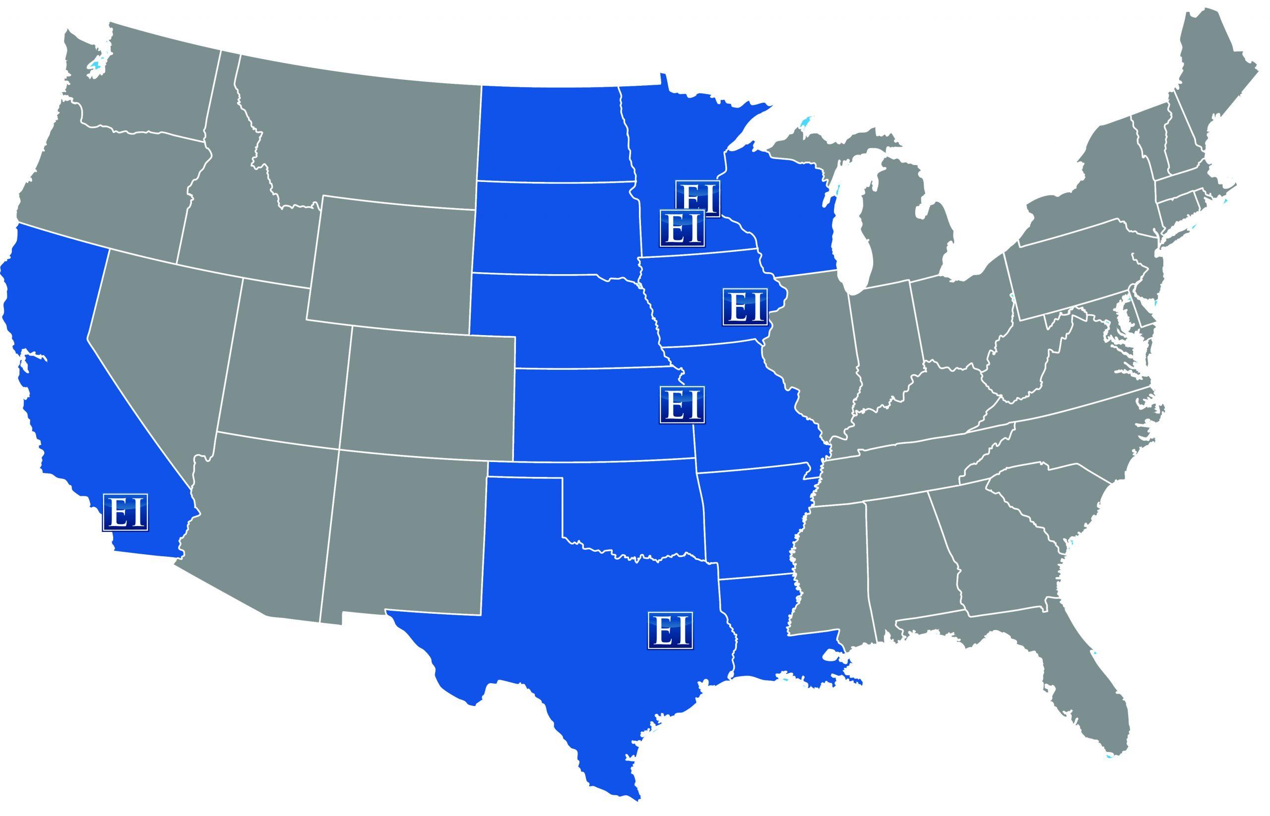 EI Sales Office Locations